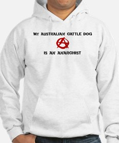 Australian Cattle Dog anarchi Hoodie