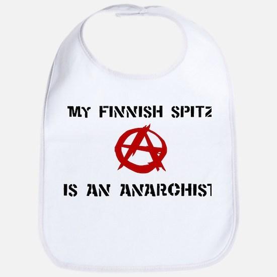 Finnish Spitz anarchist Bib