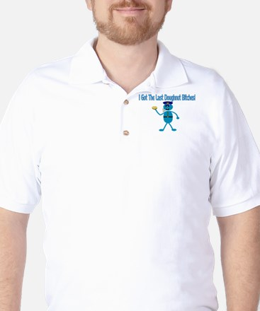 Last Doughnut Golf Shirt