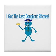 Last Doughnut Tile Coaster
