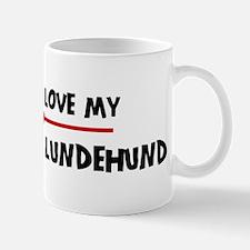 Love My Norwegian Lundehund Mug