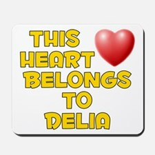 This Heart: Delia (D) Mousepad