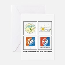 Classic NY World's Fair Greeting Cards (Package of
