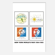 Classic NY World's Fair Postcards (Package of 8)