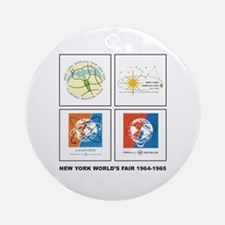 Classic NY World's Fair Keepsake (Round)