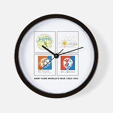 Classic NY World's Fair Wall Clock