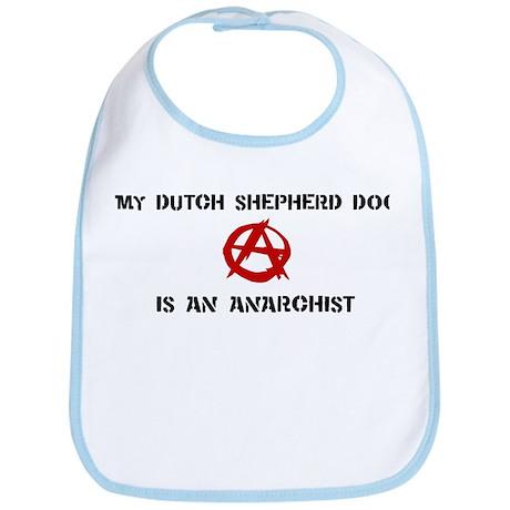 Dutch Shepherd Dog anarchist Bib