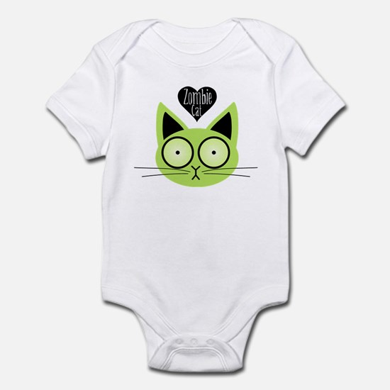 Zombie Cat Infant Bodysuit