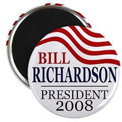 Bill Richardson 2008 (100 Magnets)