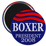 Boxer for President 2008 (Magnet)
