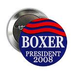 Boxer for President 2008 (Button)