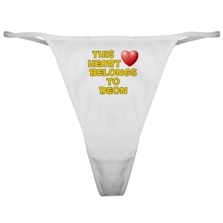 This Heart: Deon (D) Classic Thong