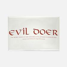 Evil Doer Rectangle Magnet