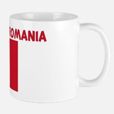 100 PERCENT MADE IN ROMANIA Mug