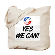 """""""Yes We Can!"""" Tote Bag"""