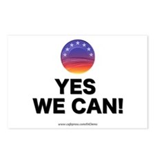 """""""Yes We Can!"""" Postcards (Package of 8)"""