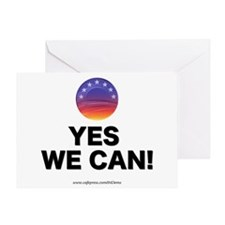 """Yes We Can!"" Greeting Card"