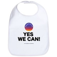 """""""Yes We Can!"""" Bib"""