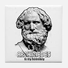 Archimedes Tile Coaster