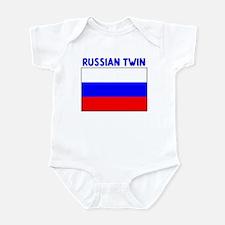 RUSSIAN TWIN Infant Bodysuit