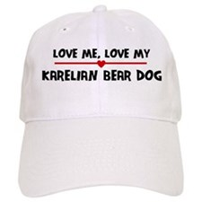 Love My Karelian Bear Dog Baseball Cap