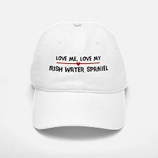 Love My Irish Water Spaniel Baseball Baseball Cap
