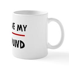 Love My Ibizan Hound Coffee Mug