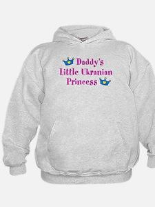 Daddy's Little Ukrainian Princess Hoodie