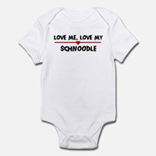 Love My Schnoodle Infant Bodysuit