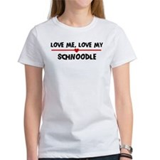 Love My Schnoodle Tee