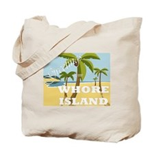 Whore Island Tote Bag