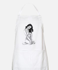 Morning Glory BBQ Apron