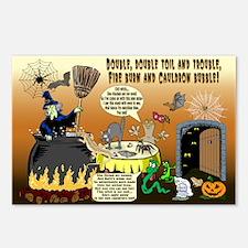 Kooky, Spooky Halloween Postcards (Pkg of 8)