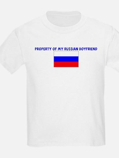 PROPERTY OF MY RUSSIAN BOYFRI T-Shirt