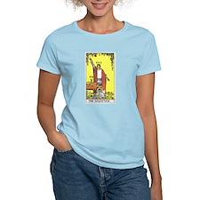 Tarot Magician Women's Pink T-Shirt