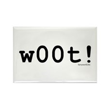 w00t! Rectangle Magnet (100 pack)