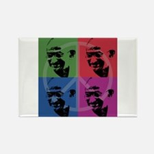 Mahatma Gandhi Rectangle Magnet (10 pack)