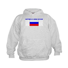 HAPPINESS IS BEING RUSSIAN Hoodie