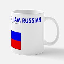 DONT BE JEALOUS I AM RUSSIAN Mug