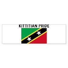 KITTITIAN PRIDE Bumper Bumper Sticker
