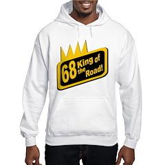 1968, 40th Birthday Hooded Sweatshirt