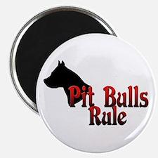 Pit Bulls Rule! Magnet
