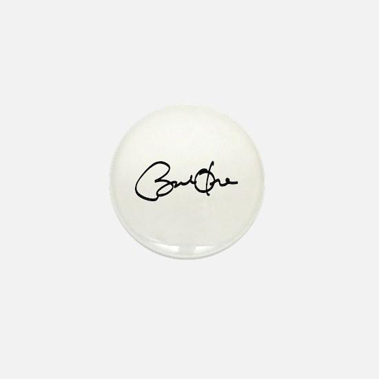 Barack Obama Autograph Mini Button