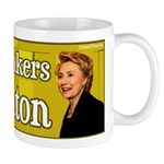 Coffee Drinkers for Clinton Mug