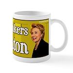 Coffee Drinkers for Clinton Mug