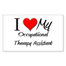 I Heart My Occupational Therapy Assistant Decal