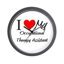 I Heart My Occupational Therapy Assistant Wall Clo