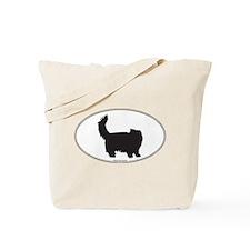 Persian Silhouette Tote Bag