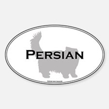 Persian Oval Oval Decal