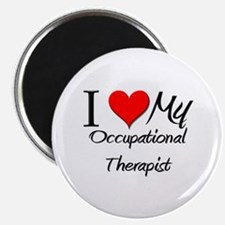 "I Heart My Occupational Therapist 2.25"" Magnet (10"